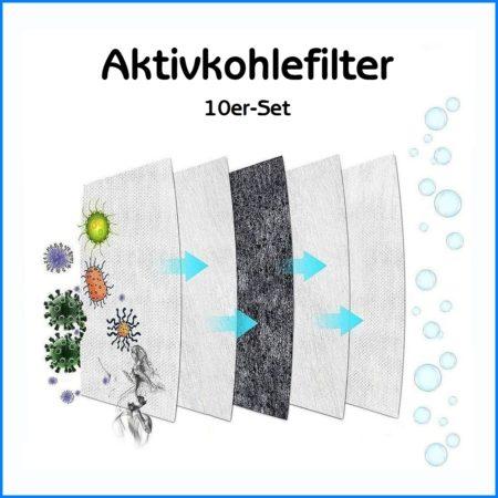 Aktivkohlefilter Set