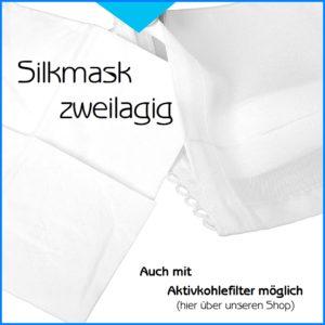 Silkmask zweilagig