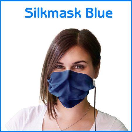 Silkmask blau