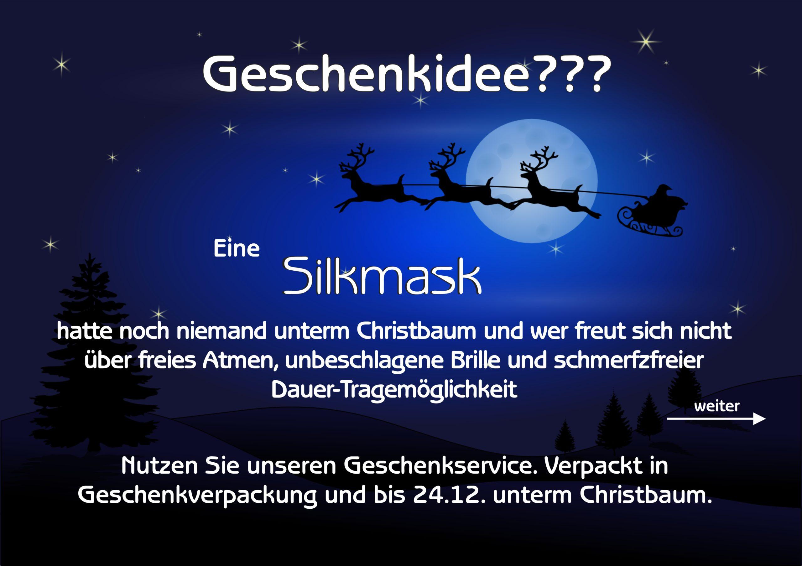 Silkmask Weihnachten